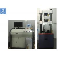 Buy cheap Steel Column Universal Testing Machine 600 KN Electro - Hydraulic Servo motor from wholesalers