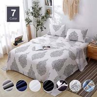 Buy cheap 4 Piece Brushed Microfiber Bed Sheet Sets, Deep Pocket Bed Sheets Queen, Hypoallergenic luxury bedding sets from wholesalers