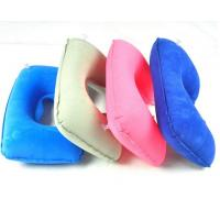 Buy cheap Inflatable U-shape neck pillow for travel and car ride from wholesalers
