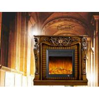 Buy cheap European Style Antique Remote Control Led Electric Fireplace For Villa Decoration from wholesalers
