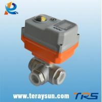 Buy cheap 0-10V/4-20mA Intelligent Modulating Proportional Control Ball Valve from wholesalers