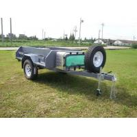 Buy cheap 7ft*4ft Luxury Camping trailer with cookware, water tank,meshwork,aluminum toolbox from wholesalers