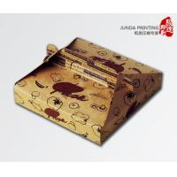 Buy cheap Colorful Printing Pizza Box Packaging , Custom Paper Pizza Box With Handle from wholesalers