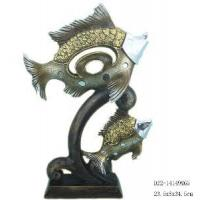 China Home Decorative Resin Fish Figurine (D24-71129-A) on sale