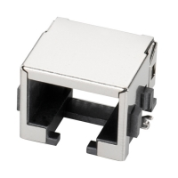 Buy cheap Shielded 8P8C SMT 13.15L RJ45 Jack With Cooper Shell product
