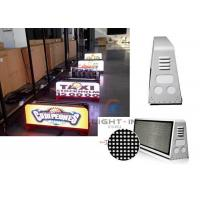 Buy cheap High Resolution Taxi Led Display 1R1G1B , Taxi Cab Advertising Signs from wholesalers