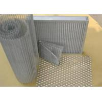 Buy cheap Galvanized Steel Aluminum Expanded Metal / Wire Mesh Fence For Equipment Protection from wholesalers
