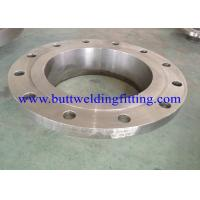 Stainless Steel Slip On Weld Flange With JIS B2261 , SS304 / 304L SS316 / 316L
