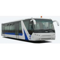Buy cheap White / Red / Blue 14 Seater Airport Apron Bus Right / Left Hand Drive Bus With PPG Painting from wholesalers