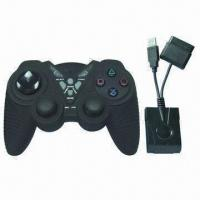 Buy cheap USB Wireless Joypad for PS2, with Auto Battery Save Function from wholesalers