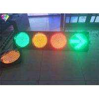 Buy cheap Red Green Traffic LED Display Flashing Traffic Light Yellow / Red / Green With Arrows from wholesalers