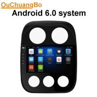 Buy cheap Ouchuangbo HD 10.1digital screen androi 6.0 for Jeep Compass with mirror link 16ROM music GPS navigation system from wholesalers