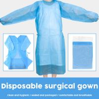 Buy cheap Moisture Proof Disposable Surgical Gown Flexible High Structure Strength product