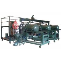Buy cheap Low Noise Used Motor Oil Recycling Equipment , Multi Function Waste Oil Refinery Machine from wholesalers