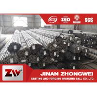 Buy cheap Carbon Steel Grinding Rods for Rod Mill In Mining and Cement Plant product