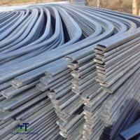 China Scaffolding ERW Oval Steel Tubing Metal Cattle Panels Straight With Lightly Oiled on sale