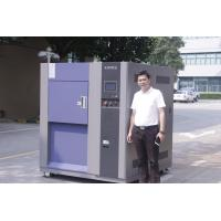 Buy cheap Single Door Stainless Steel Plate 3-Zone Thermal Shock Chamber , Environmental Test Chamber from wholesalers