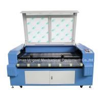 Buy cheap Car Block Set Co2 Laser Cutting Machine with Auto Feeding System/Double Heads product