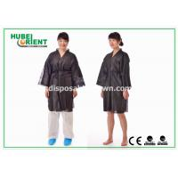 Buy cheap Breathable Soft Nonwoven Polypropylene Disposable Bathrobe for Spa Sauna from wholesalers