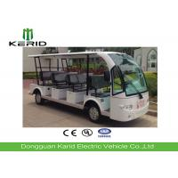 Buy cheap Outdoor 14 Passenger Electric Sightseeing Car with Superior Cruising Capacity product