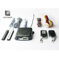 Buy cheap Black Car Alarm Systems With Remote Start And Keyless Entry , Stop Car Engine Function from wholesalers