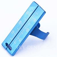 Buy cheap Endodontic File Ruler Dental Endo Rulers Dental Root Canal Measurement Instrument from wholesalers