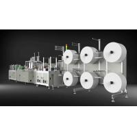 Buy cheap Low Noise N95 Mask Making Machine , 4 Ply Face Mask Manufacturing Machine product