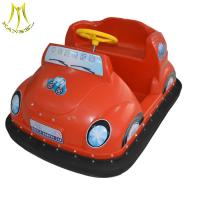Buy cheap Hansel plastic body mini car toy carnival rides battery bumper car for sale amusement park from wholesalers
