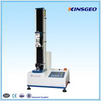 Buy cheap 5KN Universal Testing Machines Single Pole for Testing Leather from wholesalers
