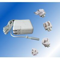 Buy cheap White Angled Laptop Power Adapter CE / GS , Apple Macbook Air Power Supply 110V from wholesalers