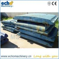 Buy cheap high manganese Extec C10 jaw crusher wearing spares jaw plate for quarry from wholesalers