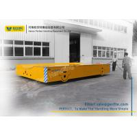 China 50 Ton Die Transfer Cart Trackless Material Transportation Polyurethane Coated Wheel on sale