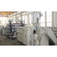 Buy cheap High Capacity PE / PVC Extruder Machine , Multifunctional PET Sheet Extrusion Machine from wholesalers