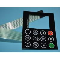 Buy cheap Silk screen printing embossing buttons LCD display female connectors membrane switches from wholesalers
