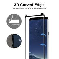 Buy cheap Full Screen Coverage [Case Friendly] Tempered Glass Bubble-Free 3D Curved Screen Protector for Samsung Galaxy Note8 from wholesalers