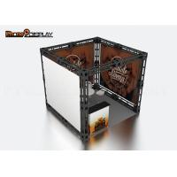 Buy cheap 10x10 Truss Trade Show Booth / Easy Set Up Portable Exhibition Booth from wholesalers