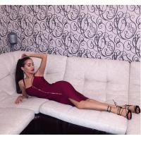 Buy cheap Front Open Zipper Strap Bandage Dress Spaghetti OEM Accepted from wholesalers