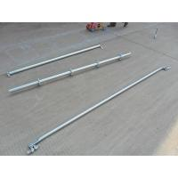 Buy cheap Support  2.42 M Galvanized Steel Scaffolding Easy Erect / Dismantle For Building Construction from wholesalers