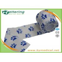 Comfortable Elastic Cohesive Bandage / Self Adhesive Bandages For Pets