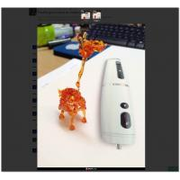 Buy cheap Chargeable Portable 3D Printing Pen / 3D Printer Dawing Polyes Q1 3D Pen from wholesalers