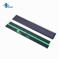 Buy cheap Waterproof Transparent Epoxy Mini Solar Panels Photovoltaic For Portable Solar from wholesalers