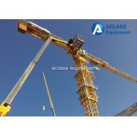Buy cheap Strong Torsional Strength 55m Jib Topless Tower Crane Heavy Equipment from wholesalers