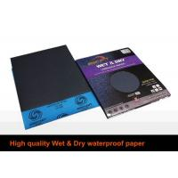 Buy cheap Soft Waterproof Emery Paper Silicon Carbide Deburring For Decoration Industry from wholesalers