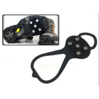 Buy cheap Non-slip Spikes Crampons Ice Snow Shoes Chain Cleat Ice Gripper for Climbing Walking Hiking from wholesalers