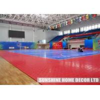 Buy cheap Safe Surface Backyard Basketball Court Flooring For Outdoor Game Court from wholesalers