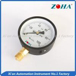 Buy cheap 100Kpa Air Economy Pressure Gauge / Hydraulic low Pressure Gauge Meter from wholesalers