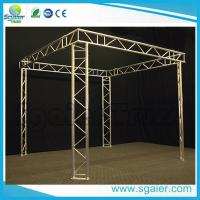 Buy cheap Exhibit Booth Tv Aluminum Truss Display Durable With Ladder Easy Transport from wholesalers