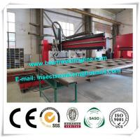 Buy cheap Corrugated Box Beam Production Line Dump Truck Panel , H Beam Welding Line from wholesalers