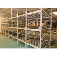 Custom Flow Through Pallet Racking Logistics Distribution Centers Industrial Storage Shelves Racks
