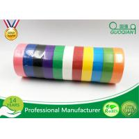 Buy cheap Backing Printed Colored Masking Tape For Car Paint , Labeling , Decorating from wholesalers